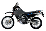 Suzuki DR 650 - Adventure ready edition