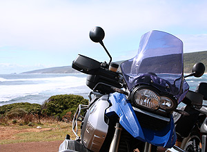 R1200GS at beach