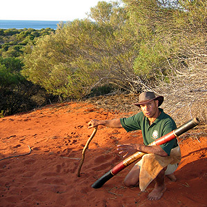 Aboriginal tour around Shark Bay area
