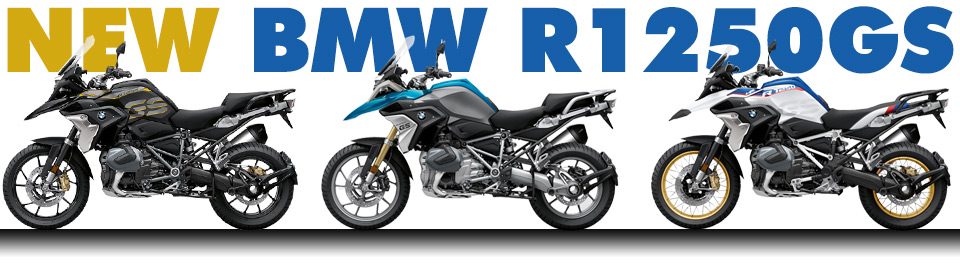 NEW BMW R1250GS available now!