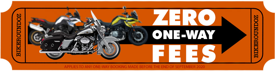 ZERO ONE-WAY FEES ON ALL BOOKINGS!